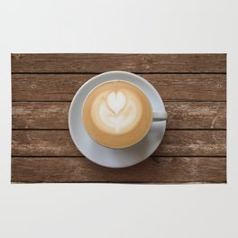 Coffee & Wood Rug