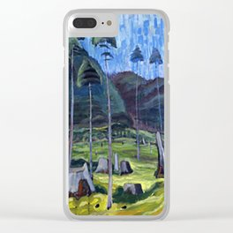 Odds And Ends Emily Carr Clear iPhone Case