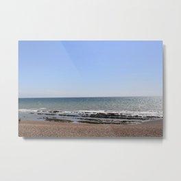 Brighton beach. Metal Print
