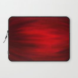 Abstract 4 - Red Strech Laptop Sleeve