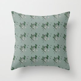 Prickly Love Throw Pillow