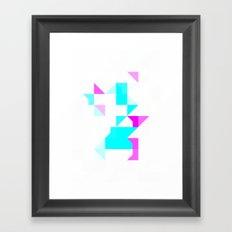 Project Map Framed Art Print