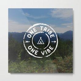 Tribe Vibe Photo Metal Print