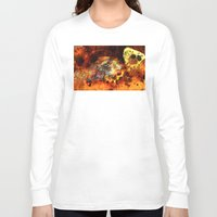 bugs Long Sleeve T-shirts featuring Chasing bugs. by Nato Gomes