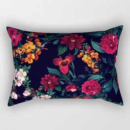The Midnight Garden Rectangular Pillow