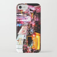 broadway iPhone & iPod Cases featuring On Broadway by Angel Salguero