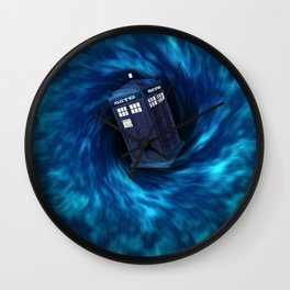 "TARDIS ""Dr. WHO"" Wall Clock"