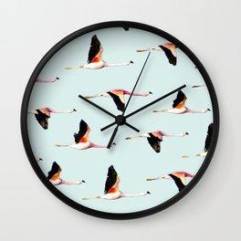 Migration #society6 #decor #buyart Wall Clock