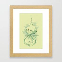 vegetation meditation Framed Art Print