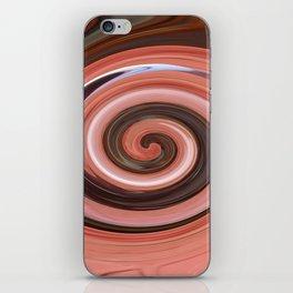 Swirl 01- Colors of Rust / RostArt iPhone Skin