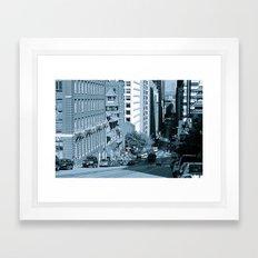 California Street Framed Art Print