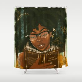 Lecture et relaxation Shower Curtain
