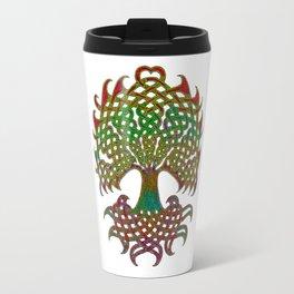 Celtic Knot Tree of Life Travel Mug
