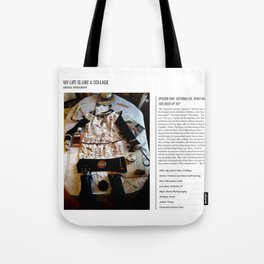 My Life Is Like A Collage / Art Stories Tote Bag