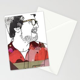 miraculously boy Stationery Cards