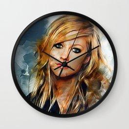 Avril Lavigne Wall Clock