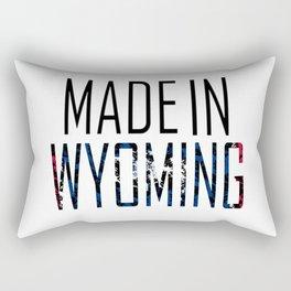 Made In Wyoming Rectangular Pillow