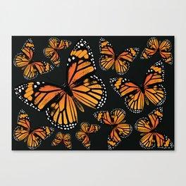 Monarch Butterflies | Monarch Butterfly | Vintage Butterflies | Butterfly Patterns | Canvas Print
