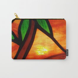 West Coast Sunset Carry-All Pouch