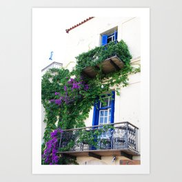 Chania Old Town View Art Print