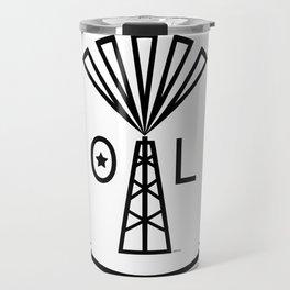 Oil Makes Me Smile Travel Mug