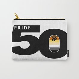 50 Pride Gay Bear Pride Flag Carry-All Pouch