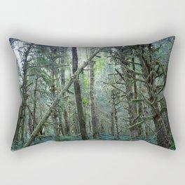 Forest Dark, Forest Deep II Rectangular Pillow