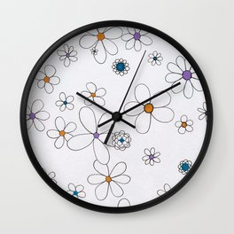 Bloomin' Gorgeous Wall Clock