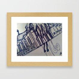PianoInk Framed Art Print