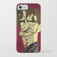 will graham iPhone & iPod Cases featuring Will Graham by nachodraws