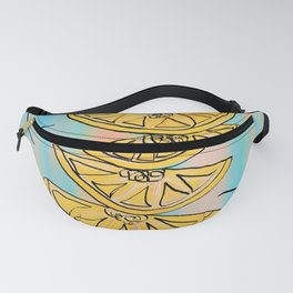 A Stack of Lemon Slices - Modern Fanny Pack