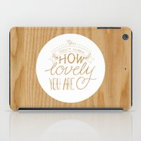 coldplay iPad Cases featuring Lovely Lyric by • CD •