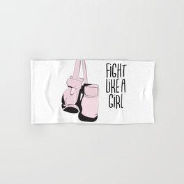 Fight like a girl Hand & Bath Towel