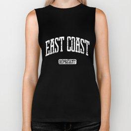 EAST COAST Represent boston Biker Tank