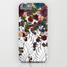 falling flowers iPhone 6s Slim Case