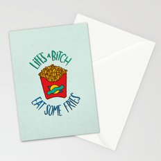 Eat Some Fries Stationery Cards