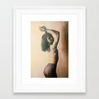 nudes Framed Art Prints featuring Art Nudes by Falko Follert Art-FF77