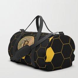 Bitcoin Bee Duffle Bag
