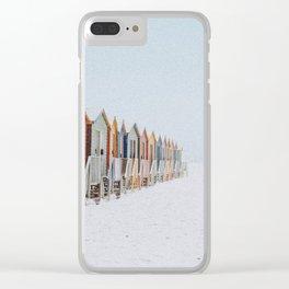summer beach x Clear iPhone Case