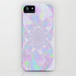 Pastel Kaleidoscope  iPhone Case