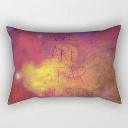 Nebula (Text) Rectangular Pillow