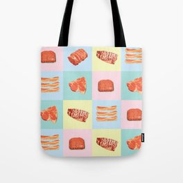 Meat Checkers Tote Bag