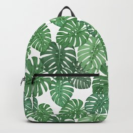 MONSTERA JUNGLE, by Frank-Joseph Backpack