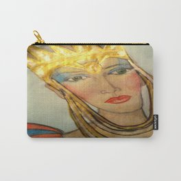 QUEEN TYRA Carry-All Pouch