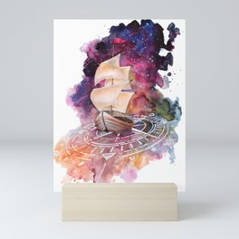 Space Ship Mini Art Print