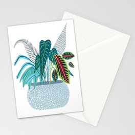 Jungle in a Pot Stationery Cards