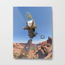 The Old West & The New West Metal Print