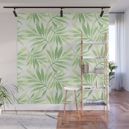 Tropical Branches Pattern 10 Wall Mural