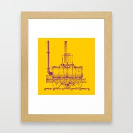 Blenkinsop's Locomotive Framed Art Print