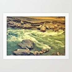 Another day gone! Art Print